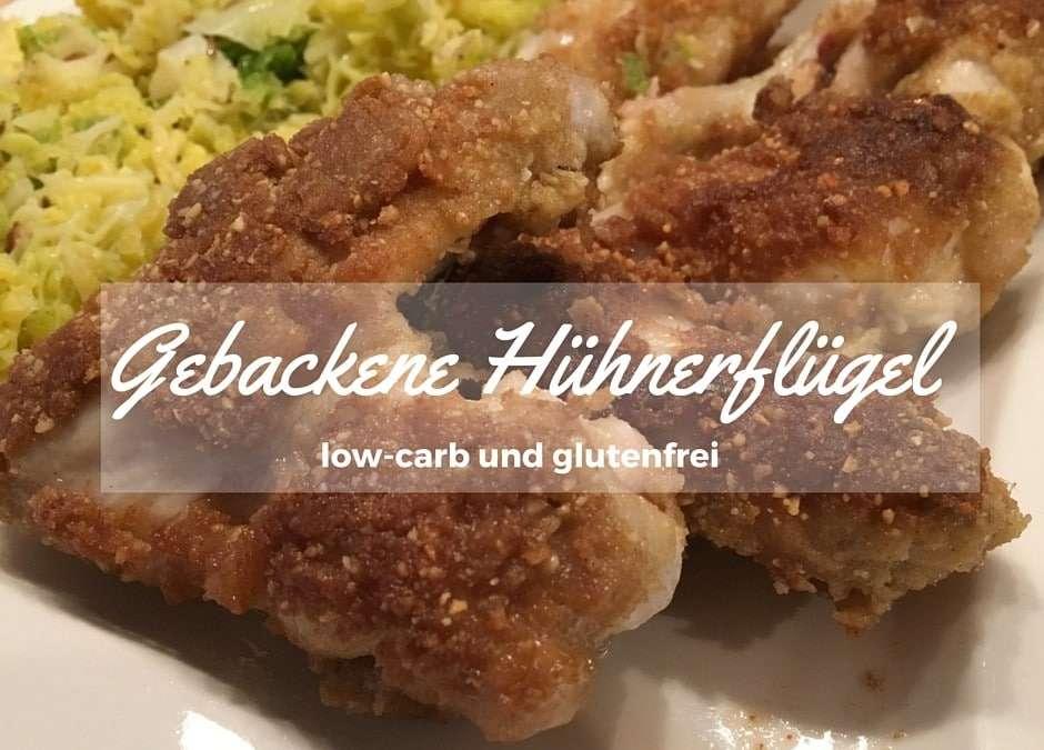 Gebackene Hühnerflügerl – Wohlfühl-Essen, natürlich low-carb und glutenfrei