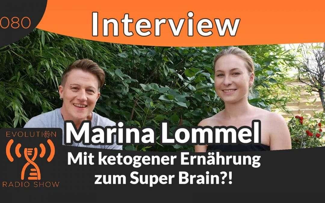 Mit ketogener Ernährung zum Super Brain – Interview mit Foodpunk Marina Lommel