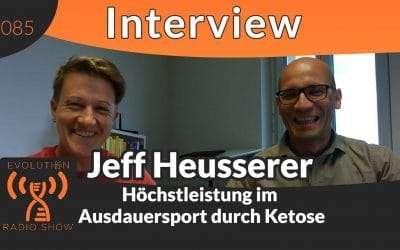 Evolution Radio Show -  Höchstleistung im Ausdauersport durch Ketose – Interview mit Radsportler Jeff Heusserer