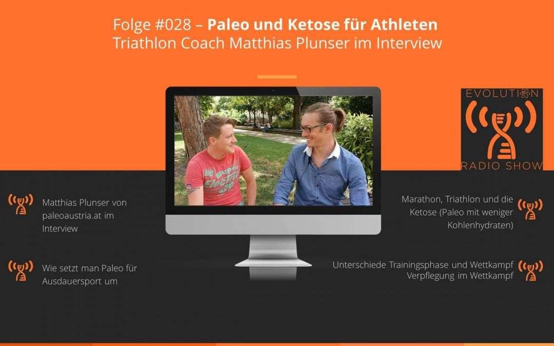 Folge #028 – Paleo und Ketose für Athleten | Triathlon Coach Matthias Plunser im Interview