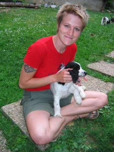 Julia mit Giles