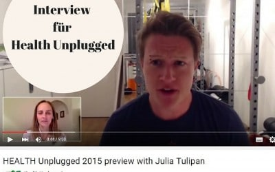 Mein Interview für Health Unplugged