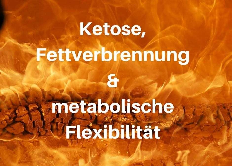 Ketose, Fettverbrennung und metabolische Flexibilität