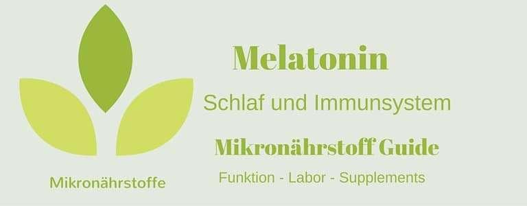 Mikronährstoff-Guide – Melatonin