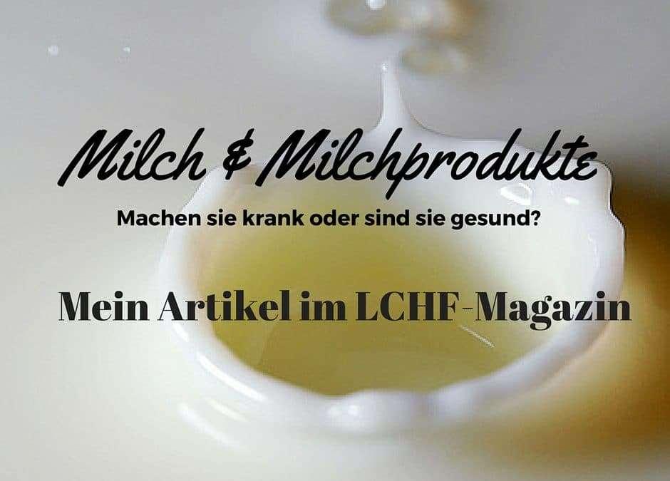 Das neue LCHF Magazin ist da! Lies meinen Artikel hier…