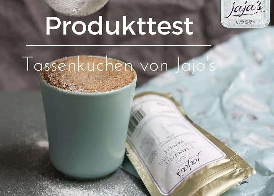 Produkttest – LowCarb Tassenkuchen von Jaja's