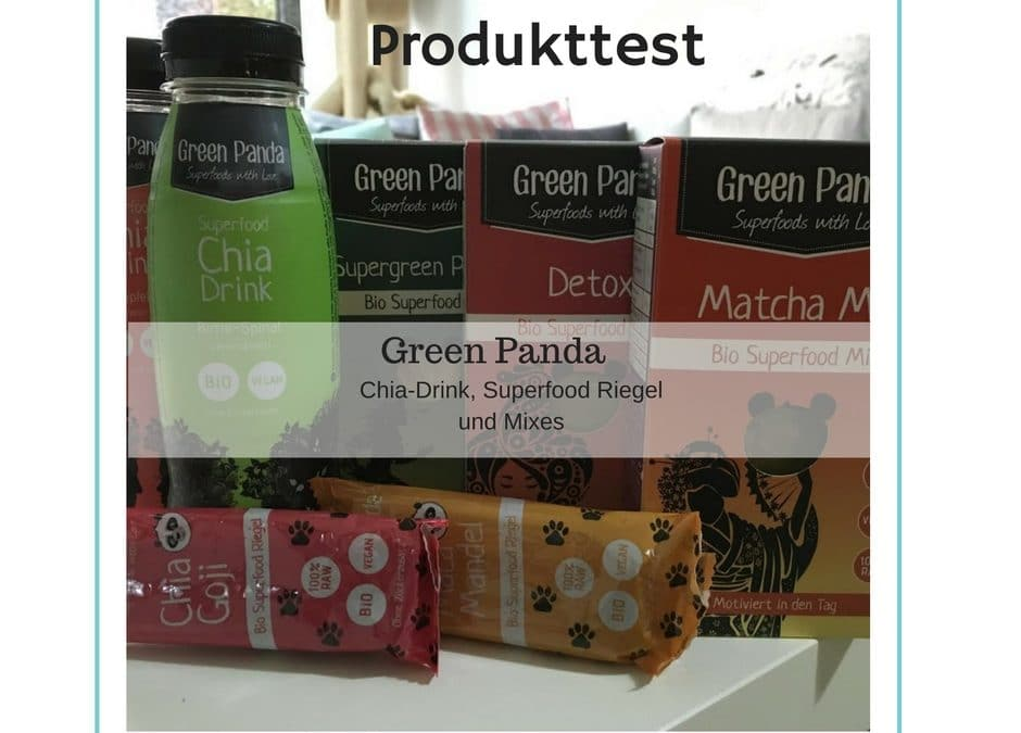 Produkttest – Super Food Mix und Chia Drink von Green Panda