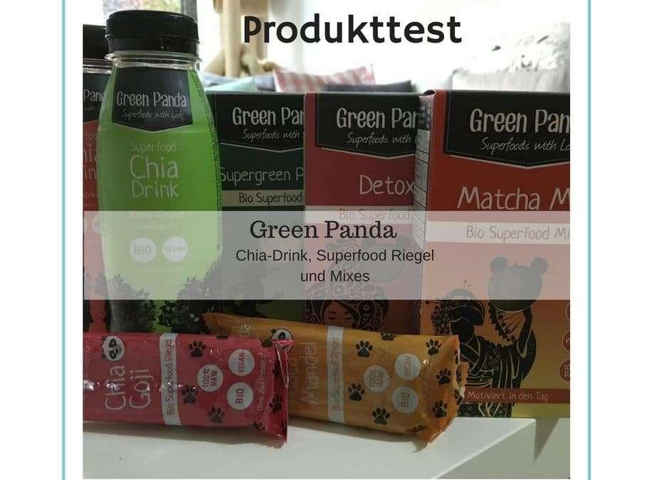 Produkttest – Super Food Mix und Chia Drink von Green Panda
