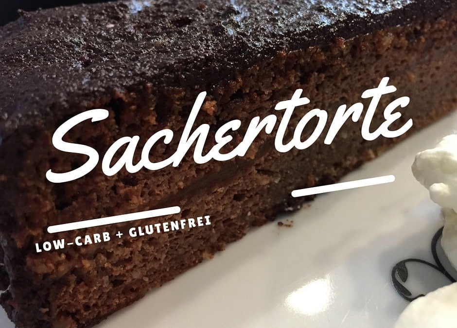 Sachertorte low-carb und glutenfrei