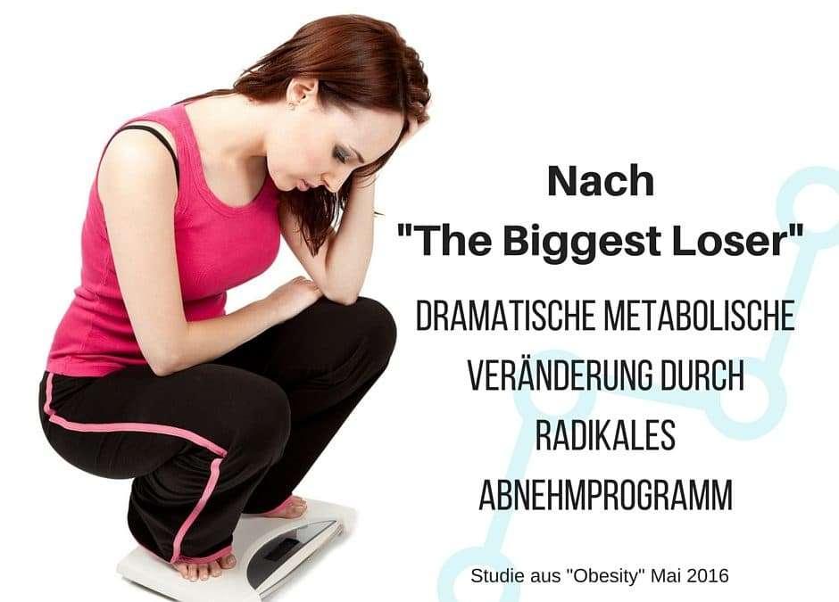 The Biggest Loser – am Ende sind sie doch die Verlierer – dramatische metabolische Veränderung durch radikales Abnehmprogramm