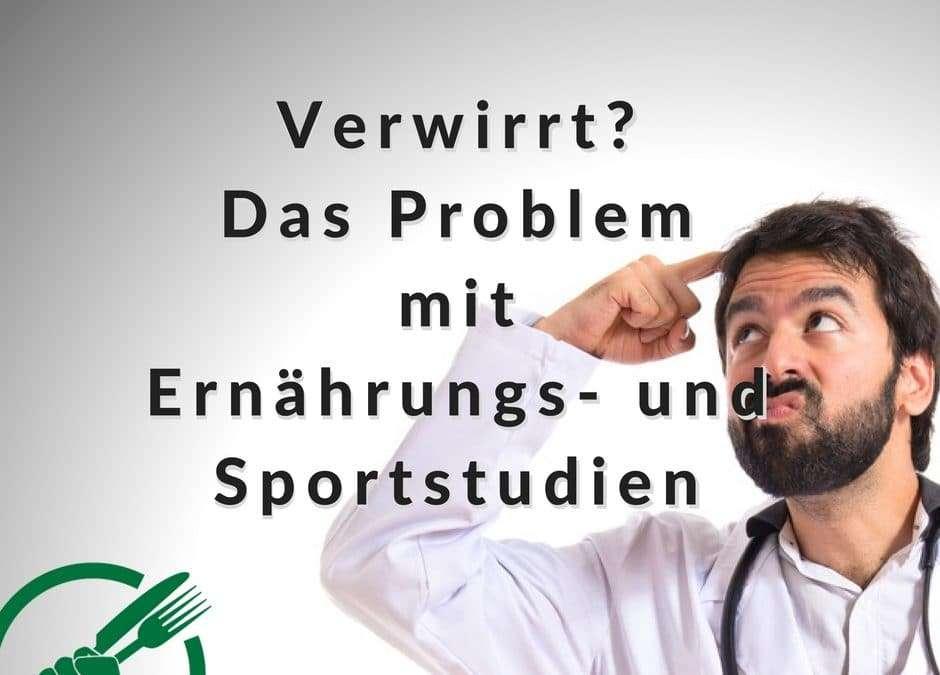 Verwirrt? Das Problem mit Ernährungs- und Sportstudien