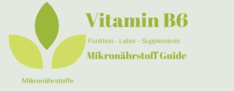 Mikronährstoff-Guide: Vitamin B6