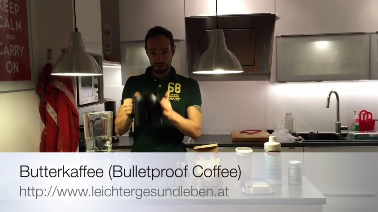 High Performance Kaffee: Bulletproof Coffee (Butterkaffee) – Rezept Video