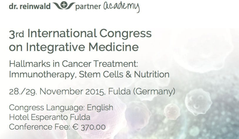 3. Internationaler Kongress für integrative Medizin in Fulda