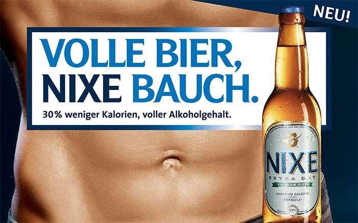 NIXE Bier – das erste low-carb Bier Österreichs