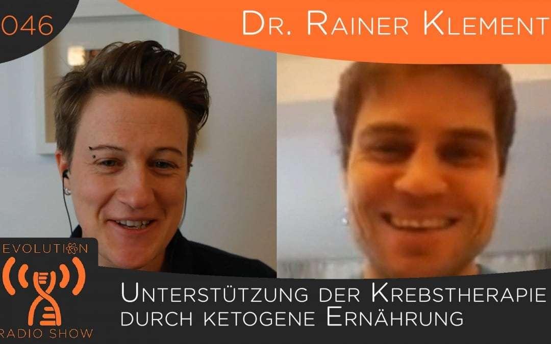 Unterstützung der Krebstherapie durch ketogene Ernährung – Interview mit Dr. Rainer Klement   Folge #046