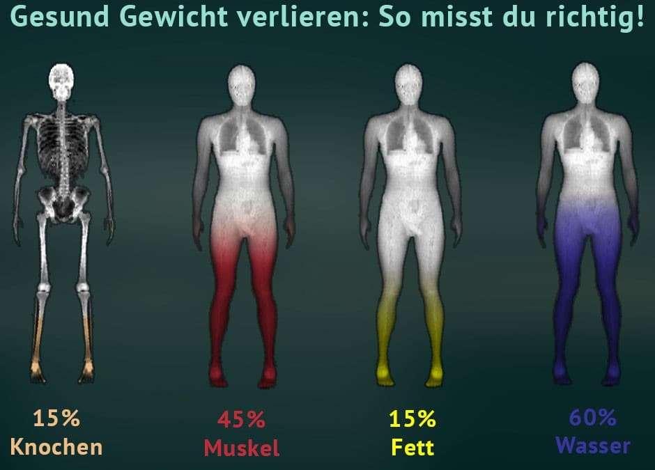 Gesund Gewicht verlieren: So misst du richtig!
