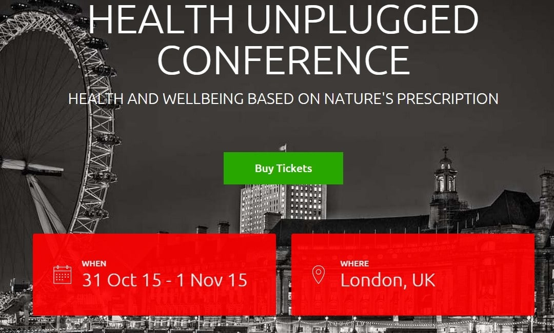 Health Unplugged in London  31.10. – 01.11. 2015