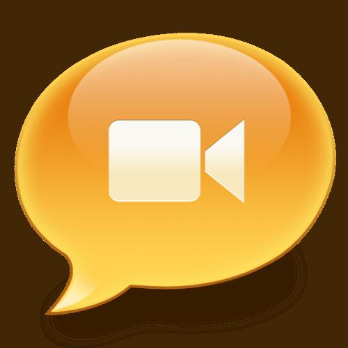 iChat Video Bubble