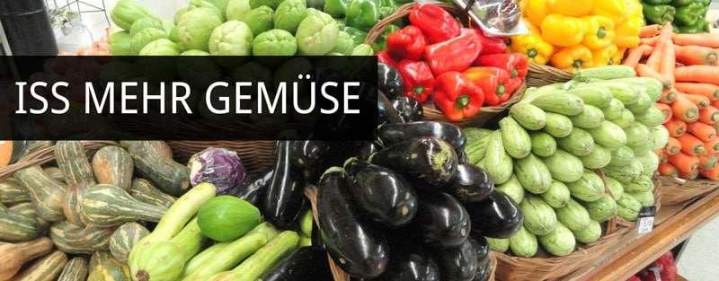 Iss mehr Gemüse: Weniger Blutzuckerausschlag mehr Sättigungs-Hormone sagt diese aktuelle Studie