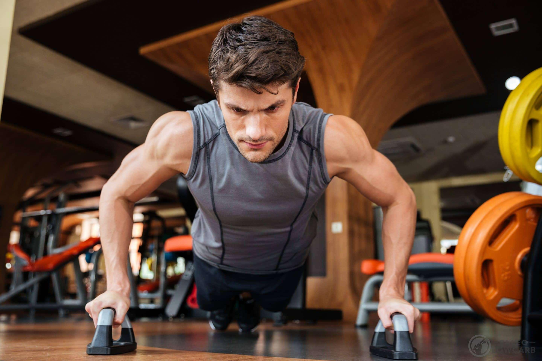 Körpergewicht split training in wochen zu mehr kraft