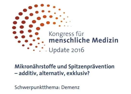 Rückblick – Kongress für menschliche Medizin 2016